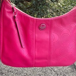 Authentic coach bag very soft leather